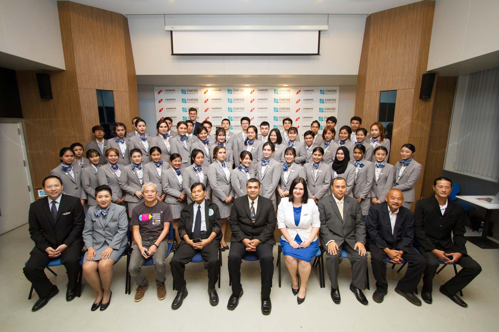 Kết quả hình ảnh cho Airlines Business Management Program stamford thailand