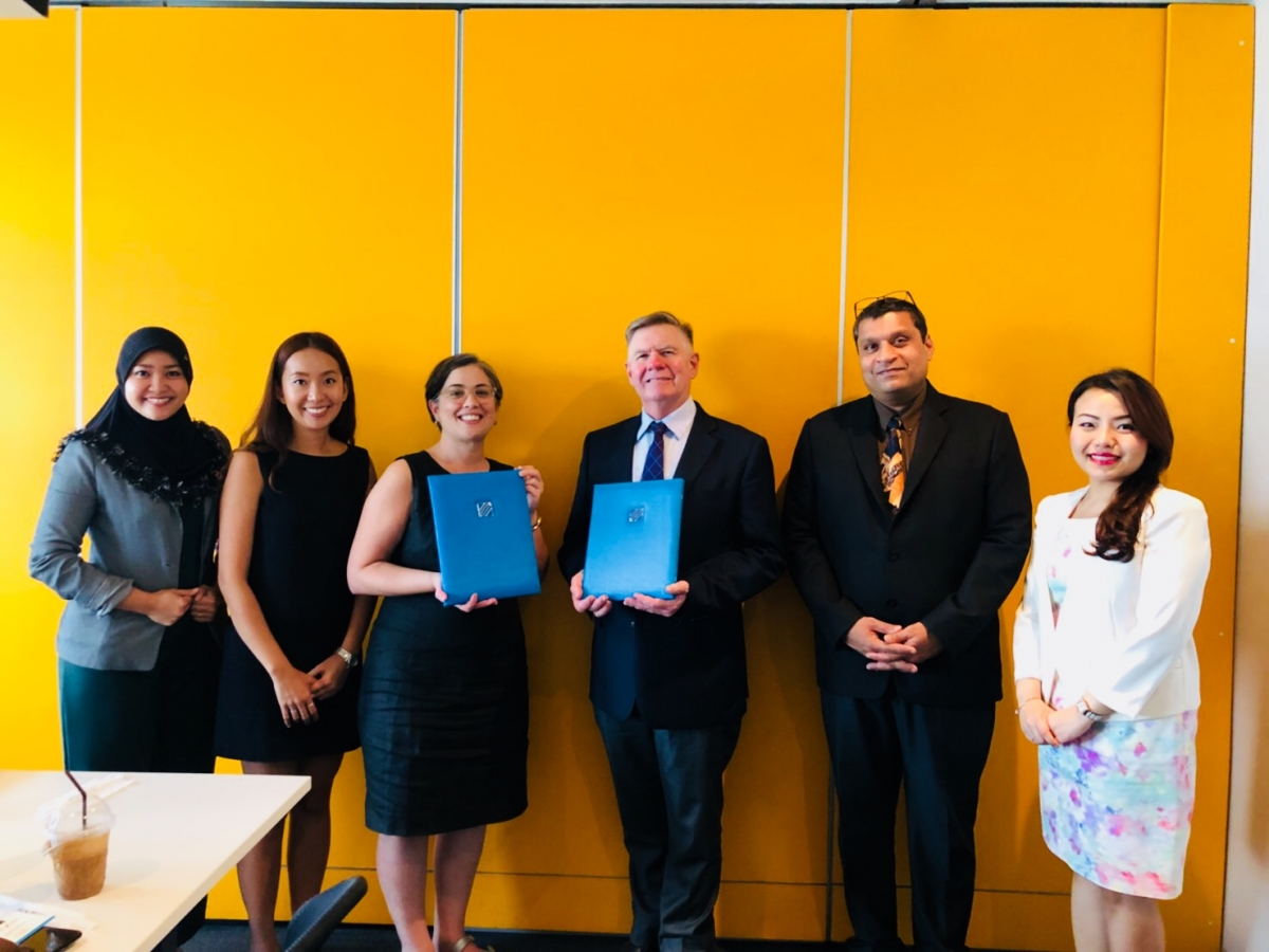Stamford signs MOU with Plan International