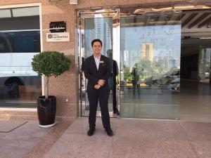 Stamford Leon International Hotel Management student